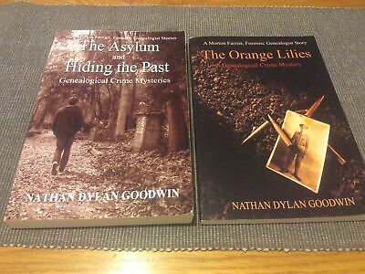Genealogical Crime Mystery Books By Nathan Dylan Goodwin The Asylum Hiding Past • 7.20£
