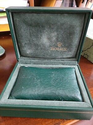 $ CDN312.58 • Buy Genuine Rolex Vintage Watch Box ,outer Case ,pillow , WARRANTY Papers & Booklet