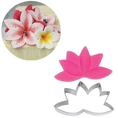 Lily Flower Cutter And Mould Single Set • 2£