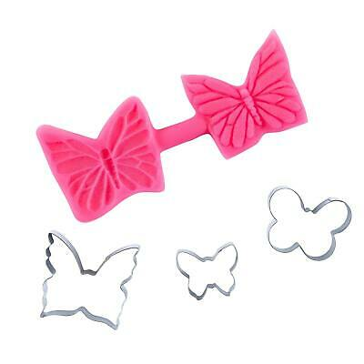 £9.95 • Buy Butterfly Fondant Cutter And Mould Multi Set