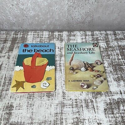 Talk About The Beach, The Seashore Ladybird Vintage Books Bundle  • 9.99£
