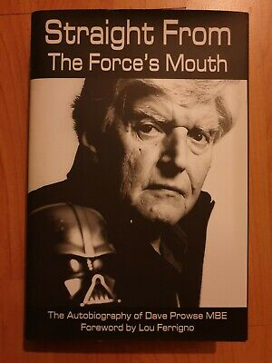 AU270.49 • Buy Straight From The Force's Mouth Autobiographt Dave Prowse Signed Hardback Book