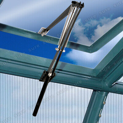Pro Auto Vent Solar Automatic Greenhouse Window Opener Black Summer Gardening • 20.49£