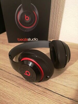 Beats By Dr Dre Studio 2 Wired Gloss Black Red • 65£
