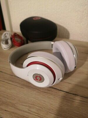 Beats By Dr Dre Studio 2 Wired White • 60£