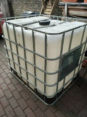 IBC Water Tank With Lead / 1000 Litre IBC Container Water / Liquid Storage • 59£
