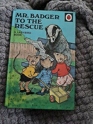 Ladybird Book - Series 401 - Mr Badger To The Rescue • 3£