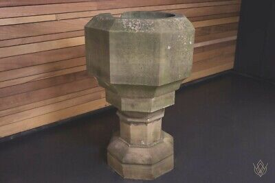 £1620 • Buy 18th Century Sandstone Carved Font/Planter - WillMow