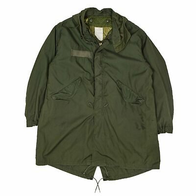$310.64 • Buy Vintage M-65 Modified 80s US Army Extreme Cold Weather Fishtail Parka L Oversize