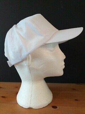 White Mens Womens Plain Cotton Adjustable Baseball Cap Printing Caps Summer Hat • 2.28£