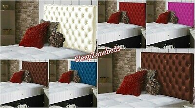 Top Quality Colchester Bed Headboard In Faux Leather Fabric S D K Sk Height 30  • 99.99£