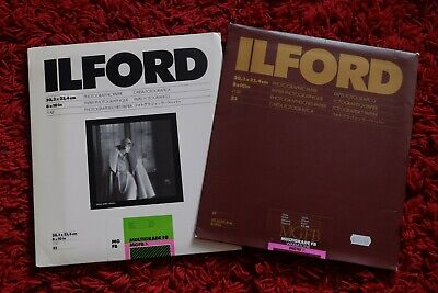 Ilford MULTIGRADE FB 10 X8  Glossy 19 Sheets / Ilford WARMTONE MGFB 5 Sheets   • 12.95£