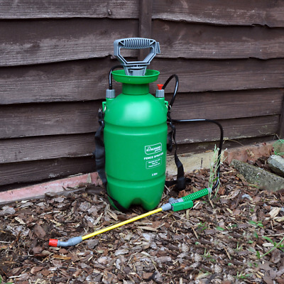 £14.73 • Buy 5l Litre Manual Fence Pressure Sprayer Garden Shed Patio Timber Wood Paint New