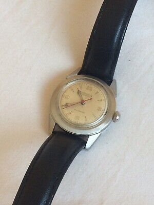 £150 • Buy Vintage Gruen Precision Automatic Stainless Steel Guildite Mens Watch 1950s