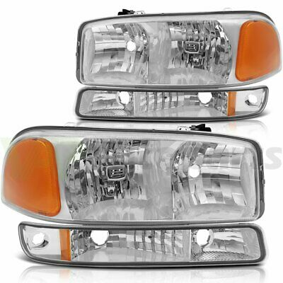 $71.28 • Buy For 1999-2006 GMC Sierra 1500 Replace Headlight Assembly Driver + Passenger Side