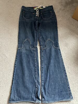 Guess Womens Jeans With Lace Up Front • 12.50£