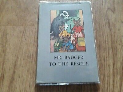 Ladybird Book, Mr. Badger To The Rescue, Series 401, 1st Edition 1949. • 47£