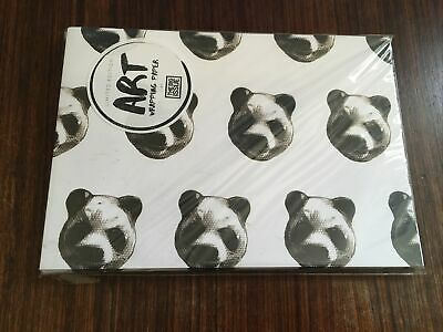 £40 • Buy Charming Baker Panda Print Art Big Issue Wrapping Paper Limited Edition Rare