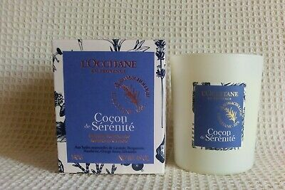 L'Occitane Fragrance RELAXING Candle 140g.  New Boxed • 15.50£