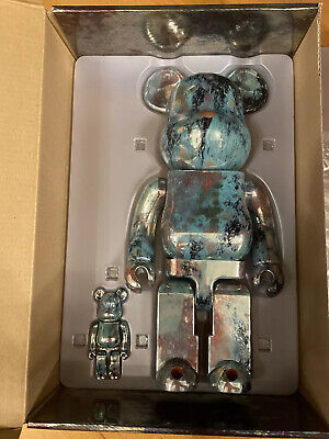 $282.10 • Buy Bearbrick 400% Pushead #5 100% & 400% Figures Set