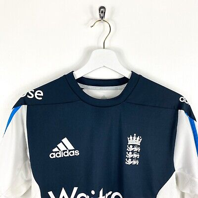 Vintage Adidas England Cricket Training Shirt Small • 5£