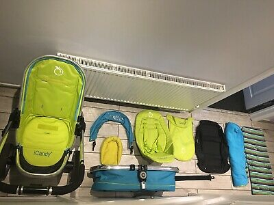 I Candy Sweet Pea Travel System Push Chair Baby Pram All Access Inc Car Chair • 150£