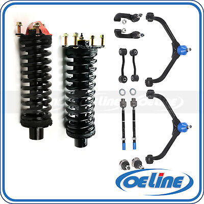 $219.68 • Buy 2x Front Struts Coil Spring W/ Sway Link Control Arm For 02-04 Jeep Liberty