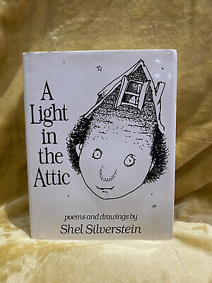 A Light In The Attic Hardback Book Poems And Drawings By Shel Silverstein • 4£