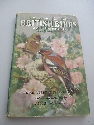 Ladybird Senior A Second Book Of British Birds And Their Nests • 5£