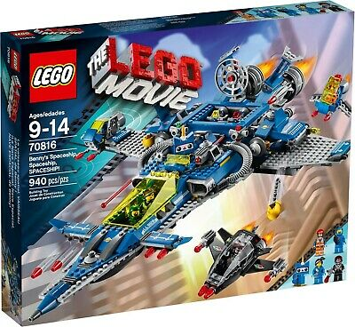 LEGO Movie 70816 - Benny's Spaceship - Complete With Box & Unused Sticker Sheet  • 19.99£