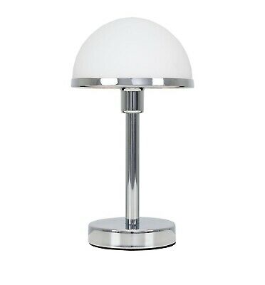£49.99 • Buy Lamps For Living Room / Home - Iconic Art Deco Touch Control - White & Chrome