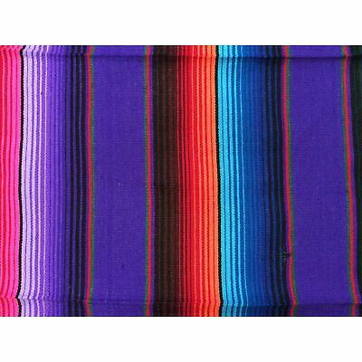 Purple Mexican Sarape Blanket • 38.26£