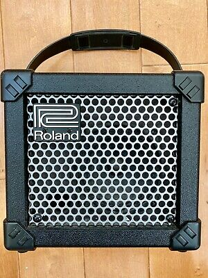 AU70.37 • Buy Roland Micro Cube Guitar Amplifier W/ Built In Effects & Tuner Clean  Looks New