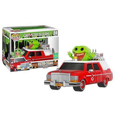 Ghostbusters FUNKO POPS! Movies ECTO-1 With Slimer Exclusive Vinyl Figure Set • 71.53£