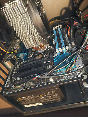 BUNDLE: I7 4790 Asrock Z97M Pro 4 8GB RAM HDD BT Cooler Please Read Description • 3£