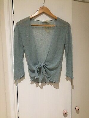 Mesh Tie Front Top One Size New With Tags • 3.99£