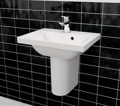 Ideal Standard Concept Space 1 Tap Hole Semi Pedestal Basin 500mm • 50£