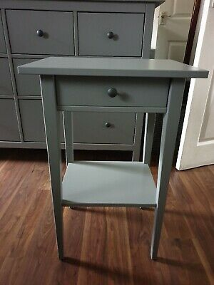 Grey IKEA HEMNES Bedside Table, 46x35 Cm RRP £50 SOLD OUT • 25£