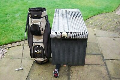 AU41.53 • Buy Full Set Of Men's  Golf Clubs Lynx Irons Izzo Bag + Woods Putter R/H