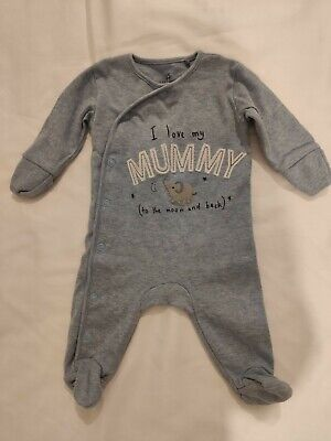 Next 'I Love My Mummy' Baby Grow Up To 1 Month  • 0.99£