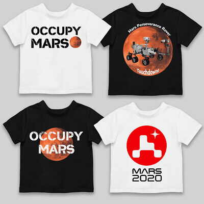 Occupy Mars T-Shirt Red Planet Astronauts SpaceX Tesla Nasa Science Men's Top • 11.99£