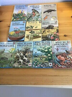 Vintage Ladybird Children's Books . Very Good Condition No Damage To Spines • 16£