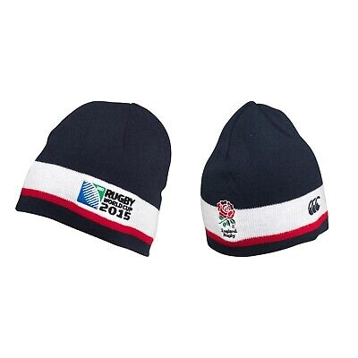 £6.95 • Buy England Canterbury Rugby Beanie Cap Woolly Hat World Cup 2015 RWC Adult Toque