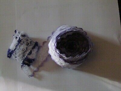 Roll Of Pale Purple Lace Plus A Little Dark Purple • 2.99£