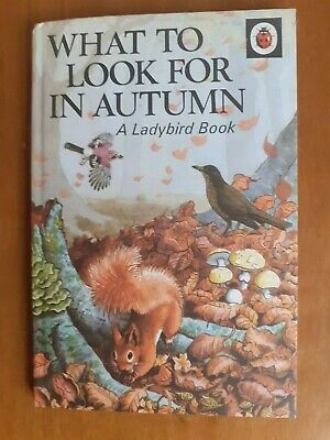 Vintage Ladybird Book - What To Look For In Autumn - Series 536 • 1.99£