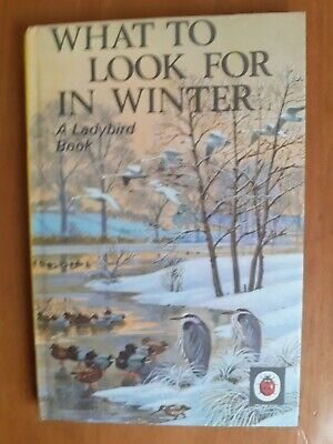 Vintage Ladybird Book - What To Look For In Winter - Series 536 • 2.19£