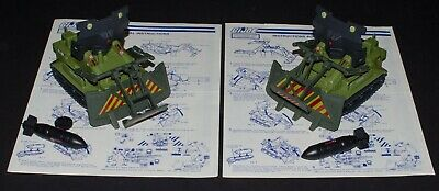 $ CDN49.22 • Buy 2 Vintage GI Joe Bomb Disposal Vehicles 1985 Near Complete ARAH Canadian