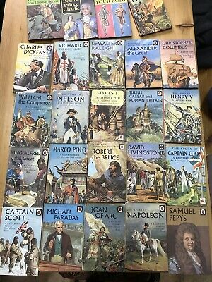 Vintage Ladybird Books Job Lot Bundle History X24 Books • 26£