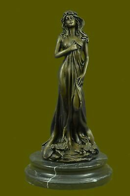 Sexy Female Statue BRONZE Greek Goddess Of Love Venus LARGE Statue NEW $699 Sale • 166.64£