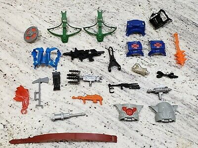 $70 • Buy Authentic Vintage Masters Of The Universe, MOTU Parts - WEAPONS LOT! He-Man!